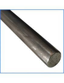 Rond plein laminé acier 30 mm