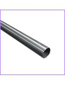 Tube inox brossé diametre 48,3 mm