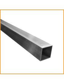 Tube carré aluminium 25×25
