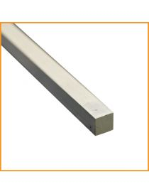 Fer carré alu 12×12 mm
