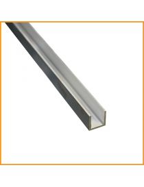 Profilé u aluminium 20×20