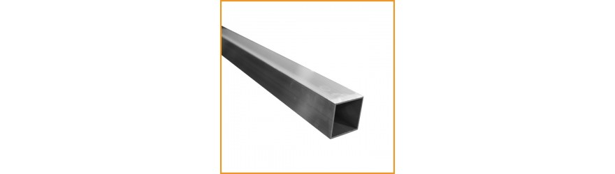 vente de Tube aluminium carré
