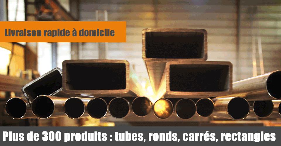 Plus de 300 produits en acier inox aluminium